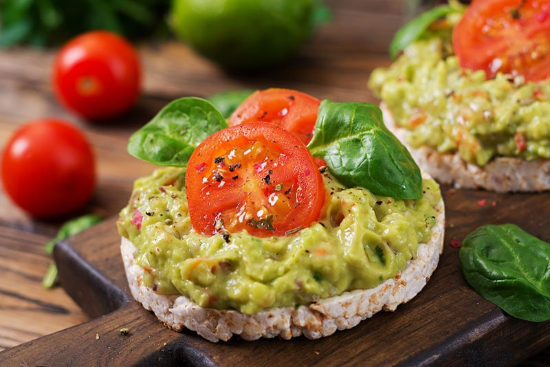 menú mexicano vegano